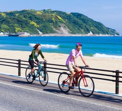 志賀島-海の中道サイクルツーリズム